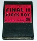 Final II + Black Box 3 - 2in1 Cartridge for Commodore C64