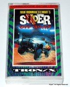 Ironman Super Off Road - cassete version for Commodore C64 C128 in VGC - TESTED