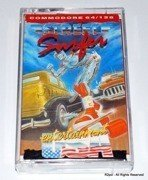 Street Surfer - boxed cassete version for Commodore C64 / C128 in VGC - TESTED