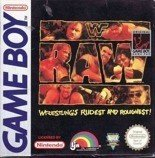 WWF RAW (Game Boy) - works with GB, GBC, GBA