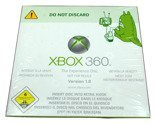 XBOX 360 The Experience Disk Version 1.0 DVD New Sealed COLLECTIBLE ITEM