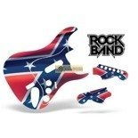 Guitar Skin Rock Band Stratocaster: Rebel Flag PS3