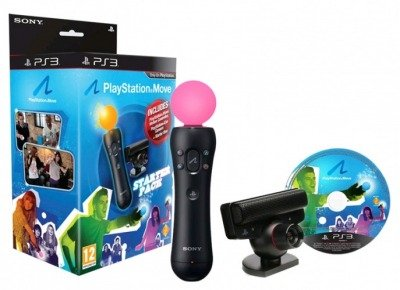 PlayStation Move Starter Pack Kontroler Move + Kamera + Gry PS3