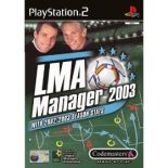 LMA Manager 2003 PS2